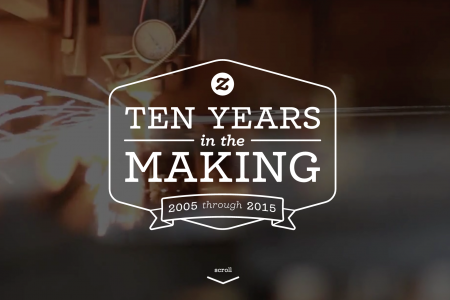 Zazzle 10th Anniversary  Infographic