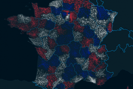 ZIPScribble Map France Level 2 Infographic
