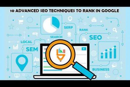 10 advanced SEO techniques to rank in Google Infographic