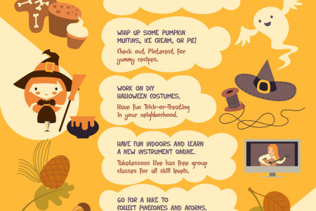 10 Affordable and Fun Fall Activities Infographic