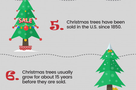10 amazing facts about Christmas Infographic