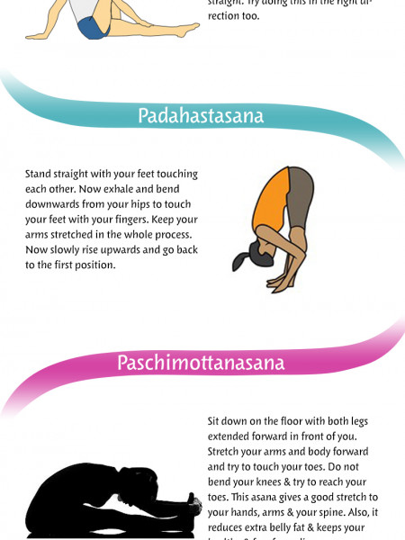 10 Best Yoga Asanas For Losing Weight Quickly Infographic