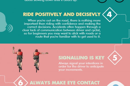 10 Cycling Safety Tips For Beginners Infographic