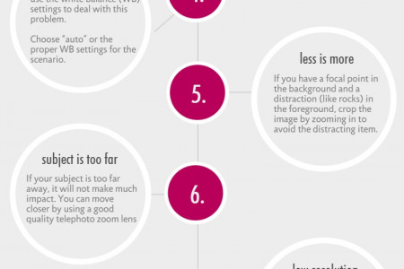 10 Digital Photography Mistakes To Avoid For Beginners Infographic