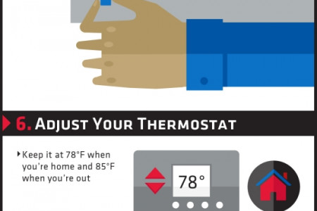 10 Easy Ways to Save Energy This Summer Infographic