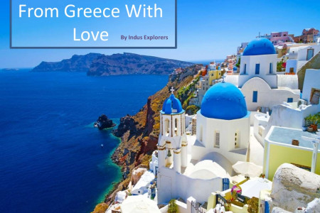 10 Extremely Gorgeous Tourist Attractions Of Greece Infographic