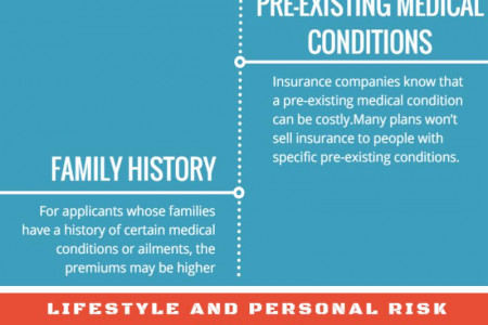 10 Factors That Affect Your Health Insurance Premium Costs Infographic