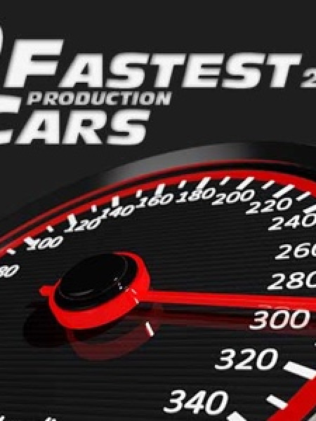 10 Fastest Production Cars in 2017 Infographic