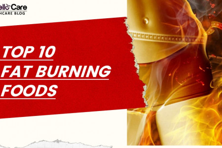 10 Fat Burning Foods - What to Eat to Lose Weight and Increase Metabolism Infographic