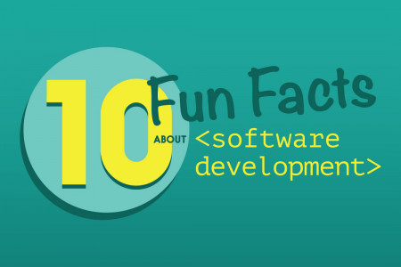 10 Fun Facts About Software Development Infographic