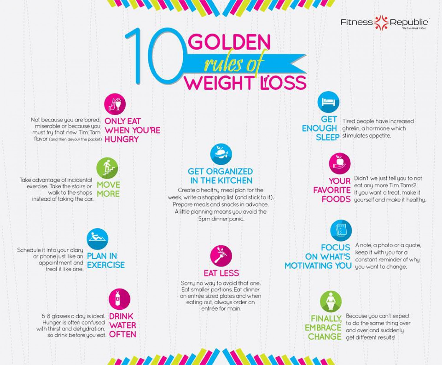 10 Weight Loss Tips from Around the World