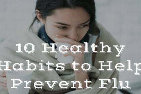 10 Healthy Habits to Help Prevent Flu Infographic