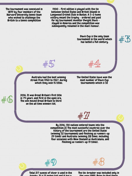 10 Interesting Tennis Facts about the Davis Cup Infographic
