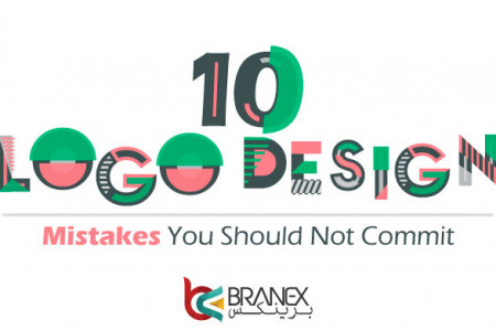 10 Logo Design Mistakes You Should Not Commit Infographic