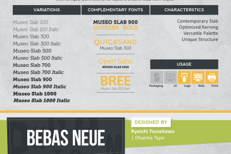 10 Most Versatile Fonts Every Designer Should Own Infographic