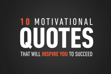 10 Motivational Quotes That Will Inspire You to Succeed [Video] Infographic