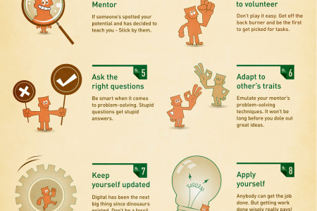 10 Must-Do's for an Advertising Intern Infographic