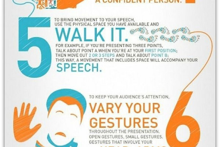 10 Powerful Body Language Tips Infographic