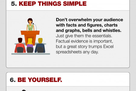 10 Pubic Speaking Tips Infographic