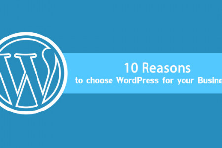 10 Reasons Why You Should Go With WordPress For Your Business Website [Infographic] Infographic