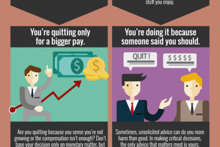10 Reasons You Should Not Quit Your Current Job Infographic