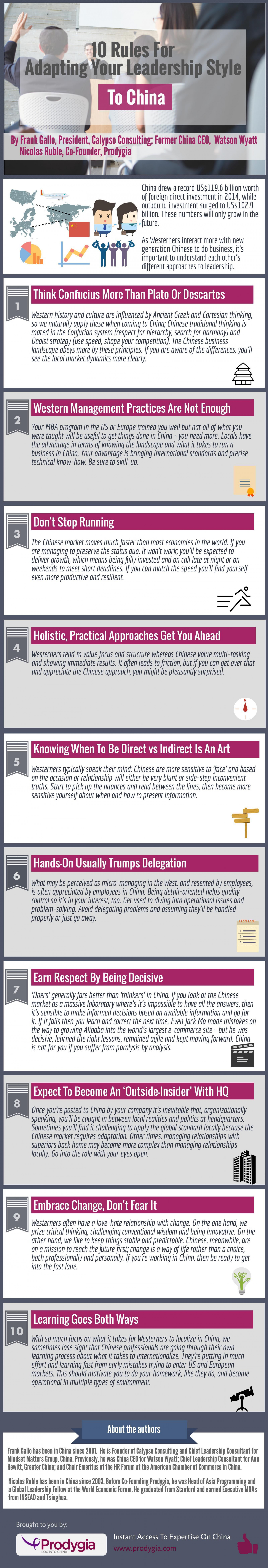 10 Rules For Adapting Your Leadership Style To China Infographic