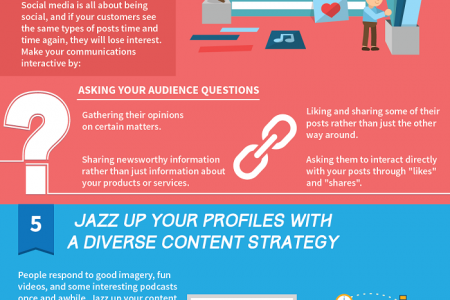 10 Social Media Marketing Strategies for Companies Infographic