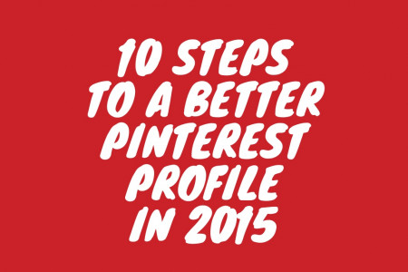 10 Steps to a Better Profile in 2015 Infographic