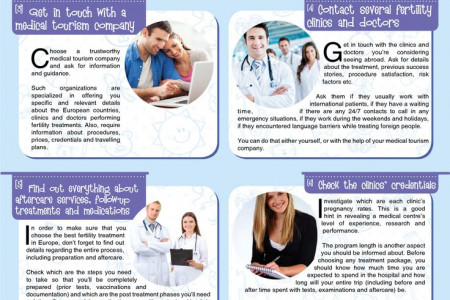 10 Steps to Finding the Best FERTILITY TREATMENT in Europe Infographic
