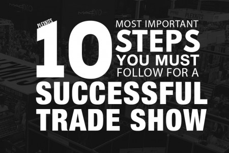 10 Steps to Trade Show Success Infographic Infographic