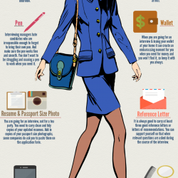 10 essential things to bring on a job interview visually - What Should You Take To A Job Interview What To Bring And What Not To Bring
