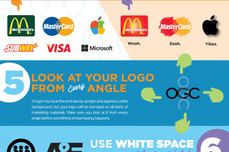 10 Things You Need to Know About Logo Design Infographic