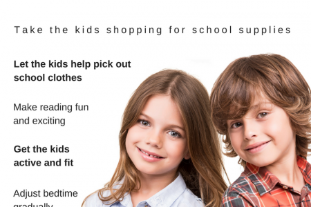 10 Tips for a Smooth Back-to-school Transition Infographic