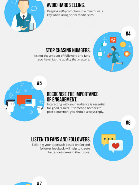 10 Tips On Becoming A GREAT Social Media Marketer Infographic