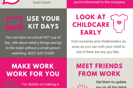 10 Tips on Returning to Work after Maternity Leave Infographic