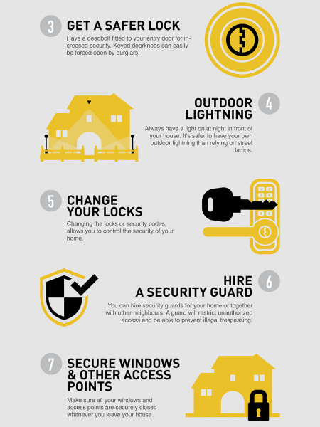 10 Tips to protect your home Infographic