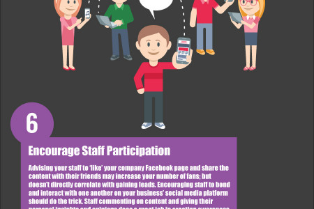 10 Tips To Slingshot Your Social Media Marketing Infographic