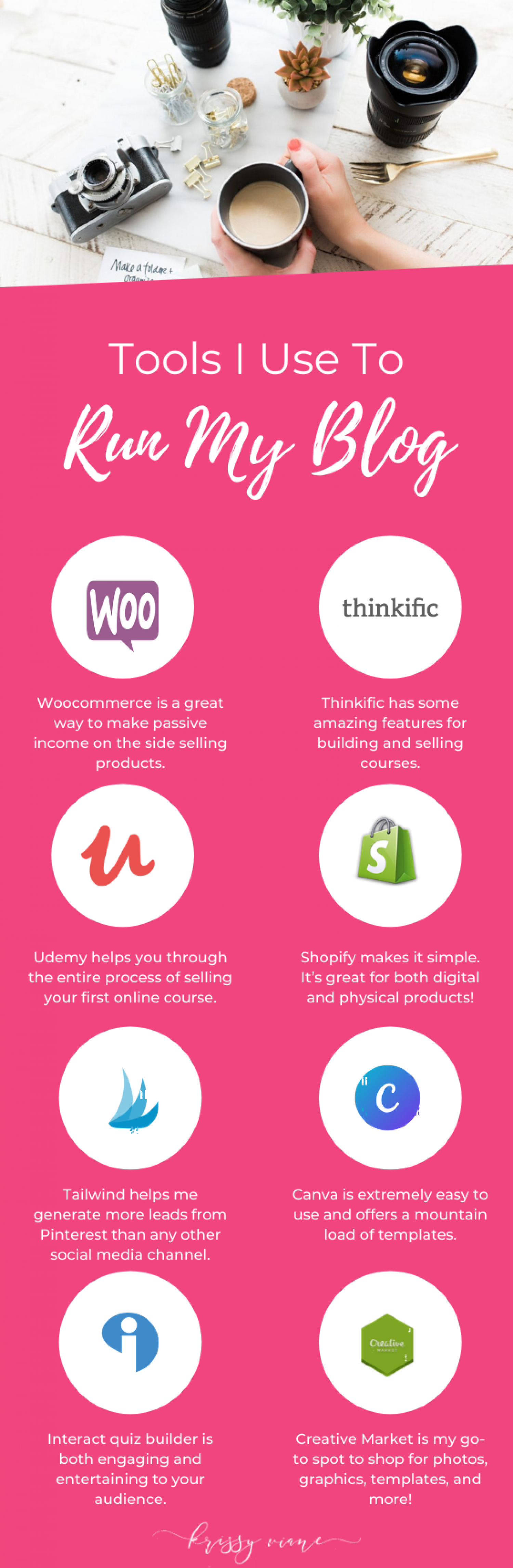 10 Tools Every Female Entrepreneur Should Be Using To Grow Her Business Infographic