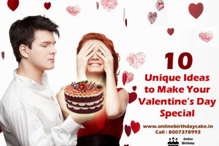 10 Unique Ideas to Make Your Valentine's Day Special Infographic