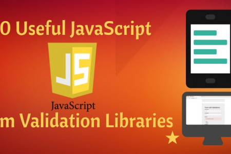 10 Useful JavaScript Form Validation Libraries Infographic