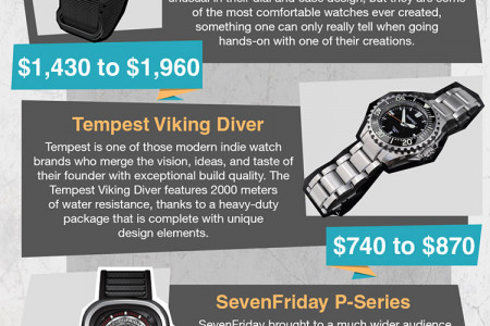 10 Watches To Please Every Watch Snob Infographic
