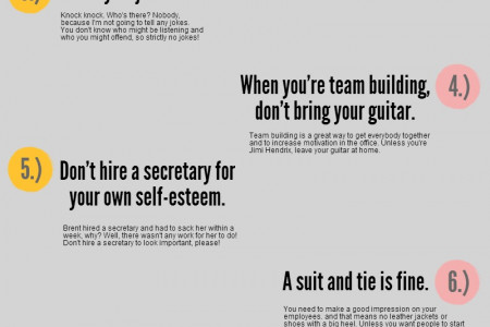 10 ways to avoid being like David Brent Infographic