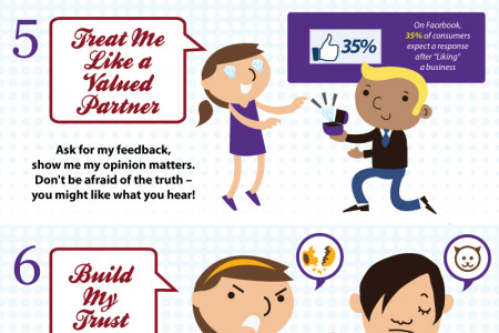 10 Ways To Find True Love with Customers Infographic
