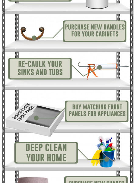 10 Ways to Increase Your Home Value on a Budget Infographic