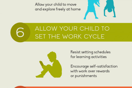 10 Ways to Integrate Montessori into Your Home  Infographic