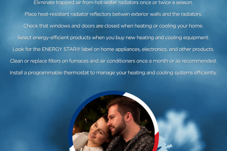 10 Ways to Save Money and Energy During Winter Infographic