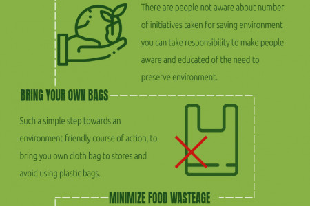 10 Ways to Save the Environment Infographic