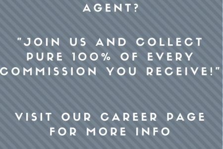 100% commission agent nyc Infographic