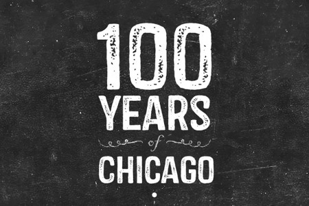 100 Years of Chicago History Infographic