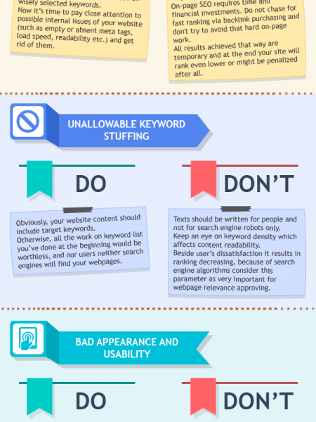 10 common SEO mistakes to avoid Infographic